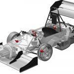 3D-printed bearings for student race car