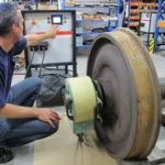 Maintenance of rolling stock – removal and installation of bearings