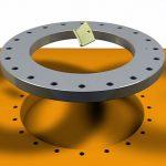 Self-lubrication slewing rings from igus