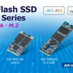Advantech Launches Wide Temperature High Capacity mSATA and M.2 Industrial SSD