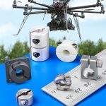 Drone and UAV components include shaft collars, couplings and mounts