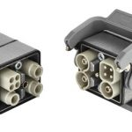 New angular housing makes HARTING Han-Modular® Twin ideal for motor connection