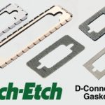 D-connector gaskets come in wide variety of materials