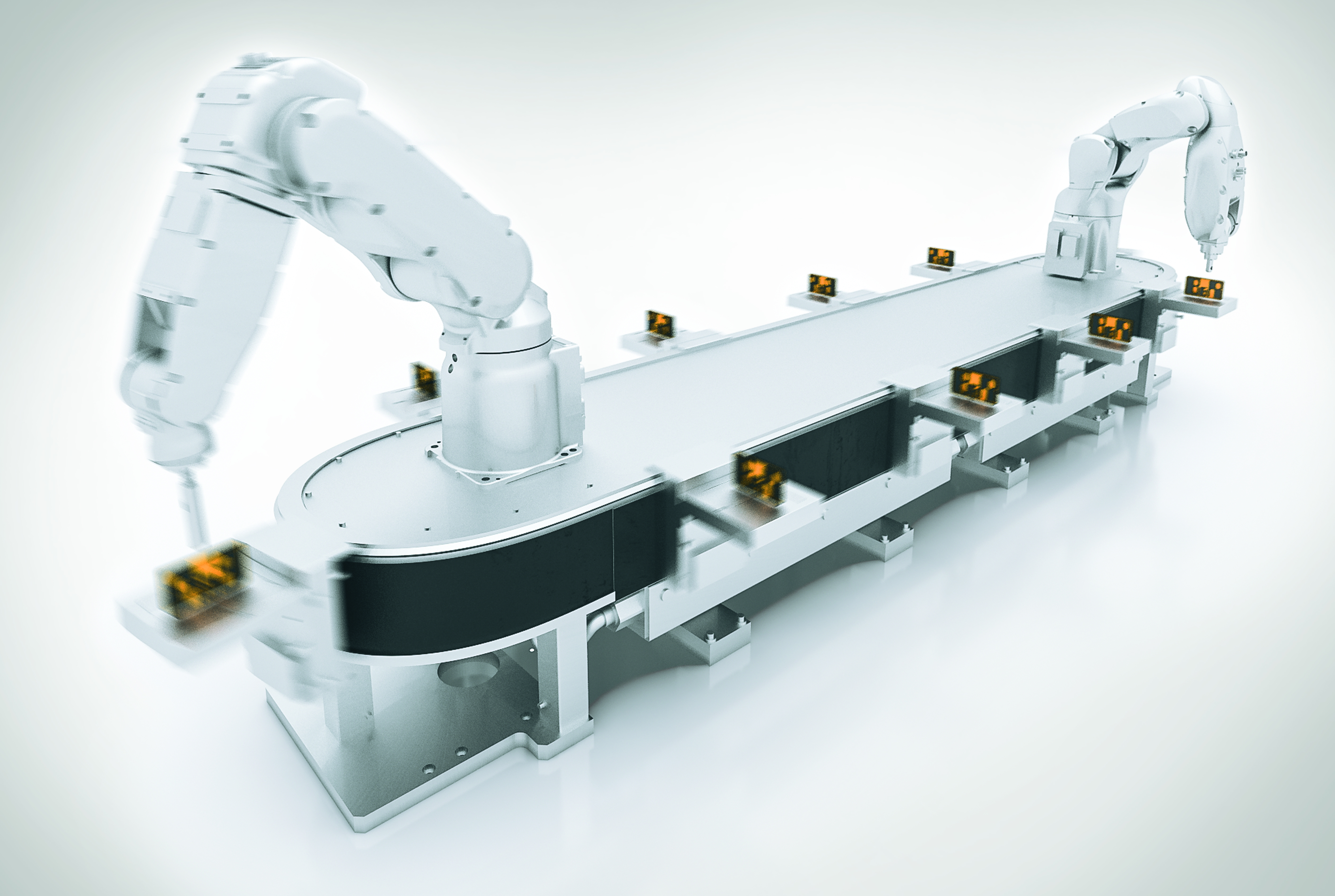 B r features automation advances to maximize packaging for Industrial design packaging
