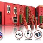 EZLogix, Modular Rack PLC with IIoT, USB Data logging, and Wifi Ready
