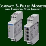Compact 3-Phase Monitors with Enhanced Noise Immunity