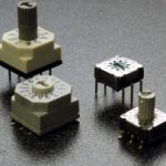 Encoded rotary DIP switches sealed to IP67