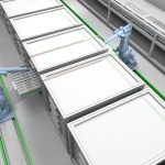 Linear motion for robotic handling in automated warehouses