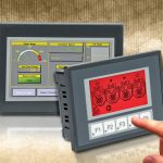 HMI touch panels with built-in Ethernet