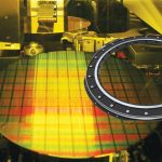 Rotary table tackles big wafers