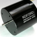 200,000 rpm brushless motor from Koford with air-cooled bearings