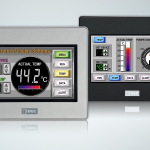 HMI from IDEC uses worldwide standard 4.3 in. LCD screen size