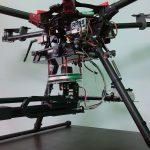 Igubal pillow block bearings on pest control drone