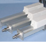 Integrated electric actuators rated to 500N max thrust