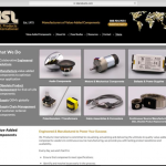 ISL's New Website Features Value-Added  Electronic/Electromechanical Components and Services