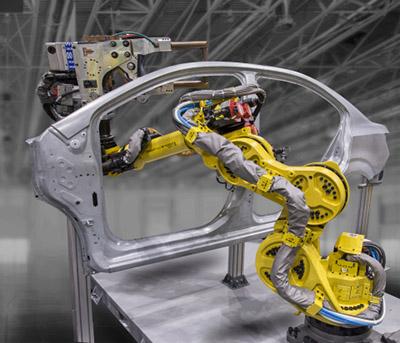 Fanuc R-1000iA-120FB-spot-welding_car_body