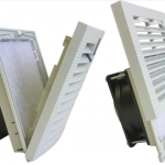 Filter Fan Kits with Louvered Sliding and Hinged Guards From Orion Fans Reduce Installation and Maintenance Costs