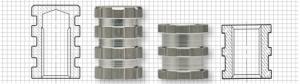 SPIROL introduces molded-in aluminum threaded inserts for plastics
