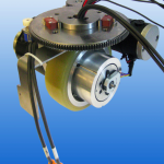 Allied Motion Introduces Fully-Integrated Powered Wheel Drives with Steering for Electric Vehicles